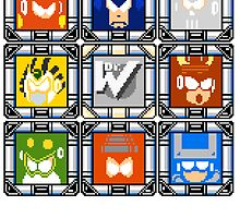 Megaman 4 Boss Select by Funkymunkey