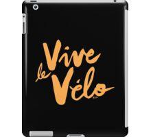 Vive le Velo v2 iPad Case/Skin