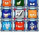 Megaman 3 Boss Select by Funkymunkey