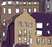 Edinburgh View Sticker