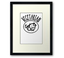 Vegetarian Framed Print