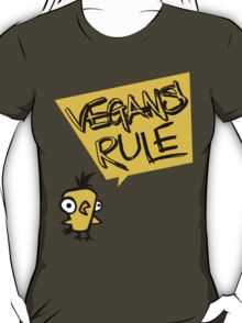 Vegans rule T-Shirt