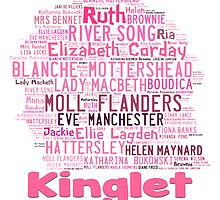 2014  Kinglet with Kingston sihloutte in pink by Kingston Central