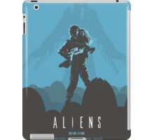 Ridley Scott's Aliens Print Sigourney Weaver as Ripley iPad Case/Skin