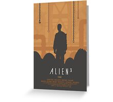 Ridley Scott's Alien³ Print Sigourney Weaver as Ripley Greeting Card