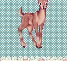 Polka dot bambi by phaona