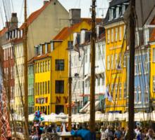 Copenhagen - Nyhavn Sticker