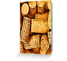 Wino  Greeting Card