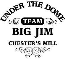 Under The Dome Team Big Jim Photographic Print