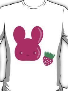 strawberry fruit bunny T-Shirt