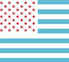 U.S.A. Flag Modified by piedaydesigns