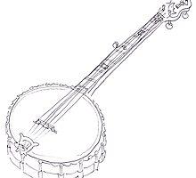 My Grandad Rob Roy's banjo  by Joel Tarling