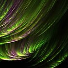 Dancing Northern Lights by MaeBelle