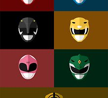 Mighty Morphin Power Rangers by gmorningnight