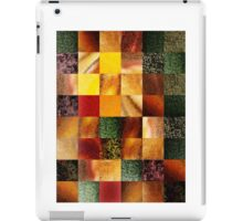 Geometric Design Squares Pattern Abstract I  iPad Case/Skin
