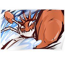 Kingler | Crabhammer Poster