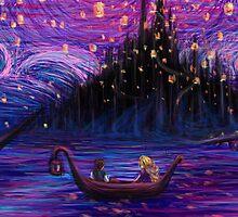 The Lantern Scene Alternate  by Kimberly Castello