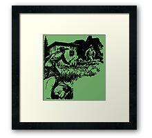 Boothill Is My Destination - Black Framed Print