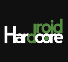 Hardcore Droid Logo -  Black by HardcoreSwag