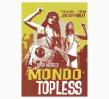 Mondo Topless (Yellow) by PulpBoutique