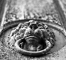 Old door Knockers - monochrome by Stanciuc
