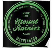 Mount Rainier National Park, Washington Poster