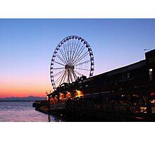 Seattle Evening Photographic Print