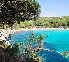 Cala Macarella bay, Island of Menorca, Balearic Islands, Spain by Stanciuc