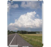 Road to the clouds iPad Case/Skin