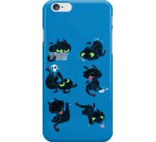 I'm a dragon person iPhone Case/Skin