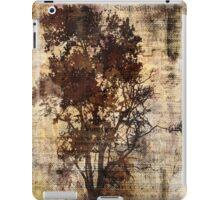 Trees sing of Time - Vintage iPad Case/Skin