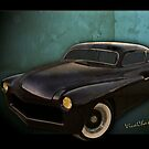 Mercury Lead Sled Down in the Alley by ChasSinklier