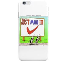 The Jogging Cows  iPhone Case/Skin
