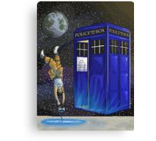 Chell and the Doctor Canvas Print