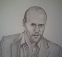 Jason Statham by Pierrot916