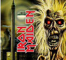 Iron Maiden First Album IPhone by chachi-mofo