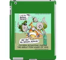 Fish Going To War (No Geneva Convention)  iPad Case/Skin
