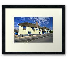 Blue Ball at Sidford  Framed Print