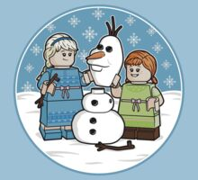 Want to Build a Snowman? by mikehandyart