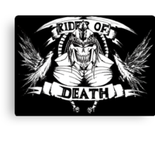 Rider Of Death Canvas Print