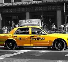NYC Taxi by loralcandy