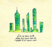 Paper Towns quote by novillust