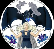 Daenaries Targaryen: Blue by miss0aer