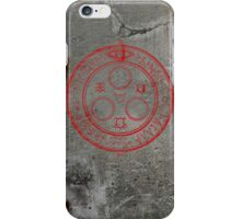 The Halo of the Sun (Red) iPhone Case/Skin