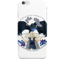 Daenaries Targaryen: Blue iPhone Case/Skin