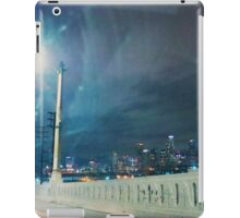 Whittier Blvd bridge. iPad Case/Skin