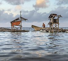 Wabula Village Fisherman by Mieke Boynton