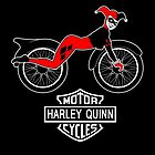 Harley Quinn Motorcycles by Dumpsterwear