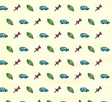Paper Towns icon pattern by novillust