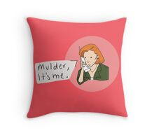 Dana Scully Throw Pillow